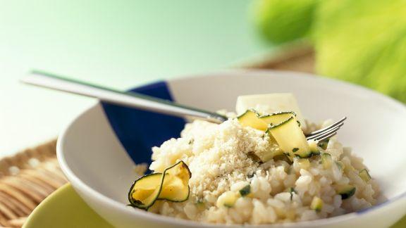 Rezept: Zucchinirisotto