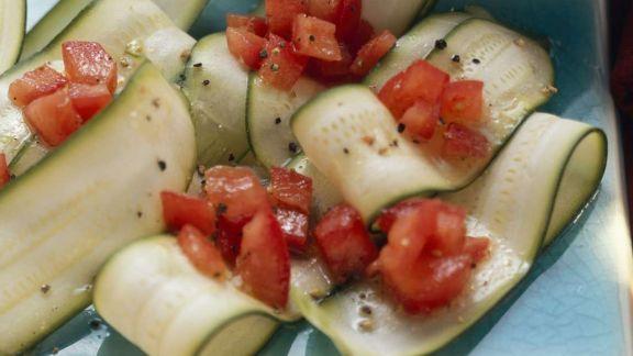 Rezept: Zucchinisalat