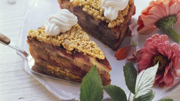 Rezept: Zwetschgen-Mandelkuchen