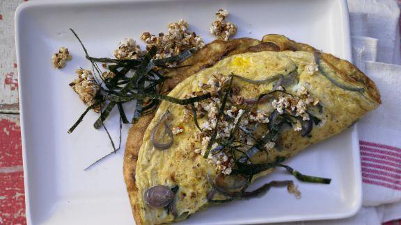 Rezept: Zwiebel-Omelett