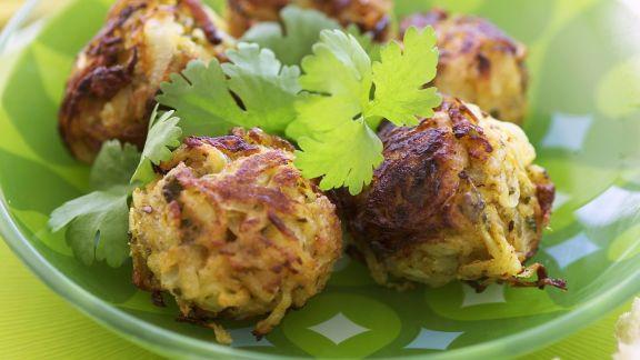 Rezept: Zwiebelbällchen aus Indien