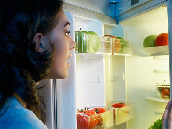 Abendsnacks gegen Heißhunger