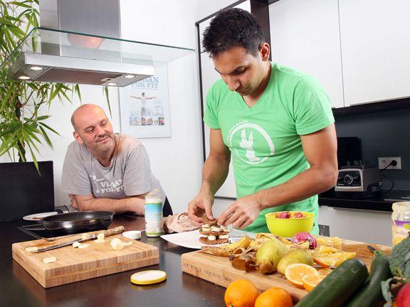 abnehmen durch vegane ern hrung er hat es geschafft eat smarter. Black Bedroom Furniture Sets. Home Design Ideas