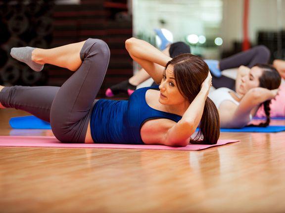 fitness bauch weg bungen training eat smarter. Black Bedroom Furniture Sets. Home Design Ideas
