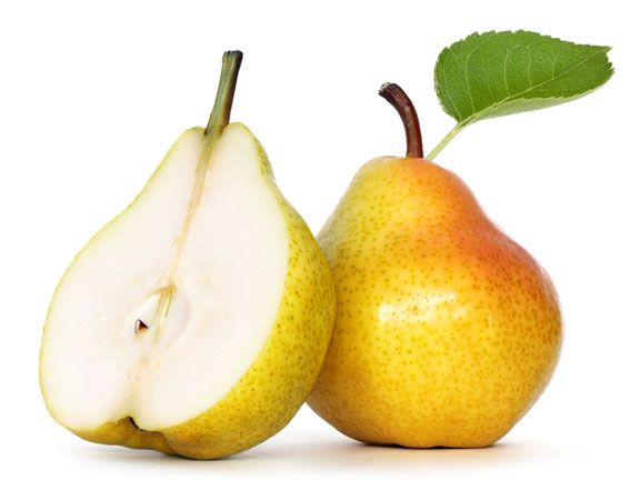 Birnen zu essen ist gesund