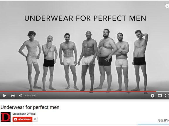 Unterwäsche echte Kerle