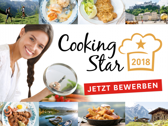 Jetzt für den Cooking Star 2018 bewerben