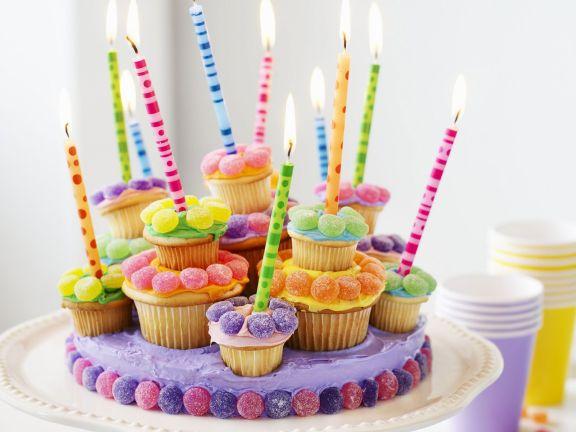 Cupcake-Torte