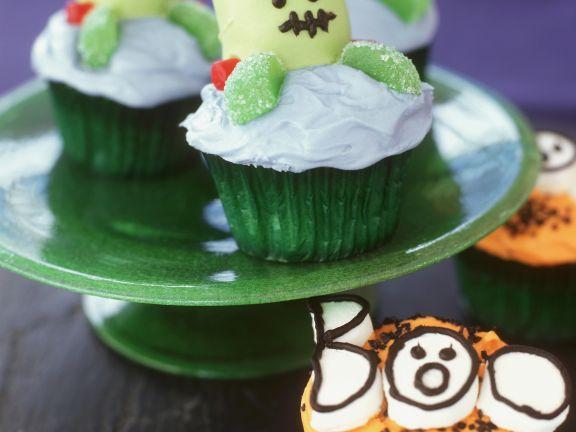 cupcakes zu halloween rezept eat smarter. Black Bedroom Furniture Sets. Home Design Ideas