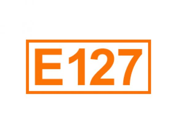 E 127 ein Farbstoff