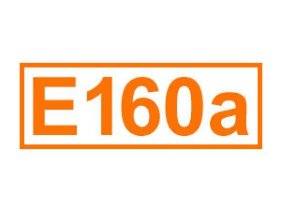 E 160 a ein Farbstoff