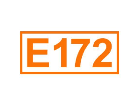 E 172 ein Farbstoff