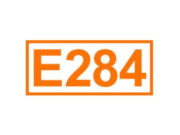 E 284 ein Konservierungsstoff
