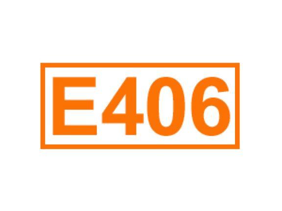 E 406 ein Füllstoff