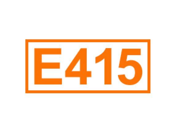 E 415 ein Füllstoff