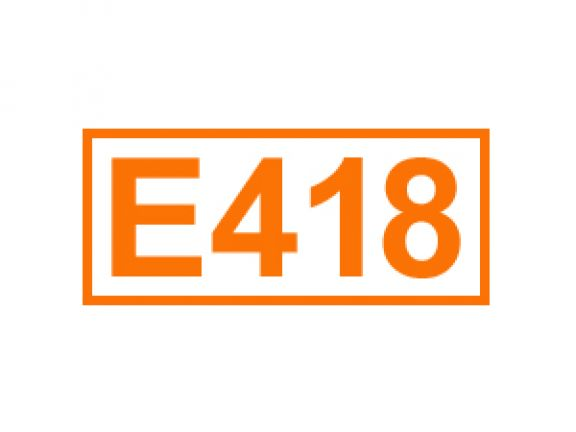 E 418 ein Geliermittel