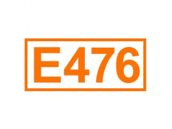 E 476 ein Emulgator