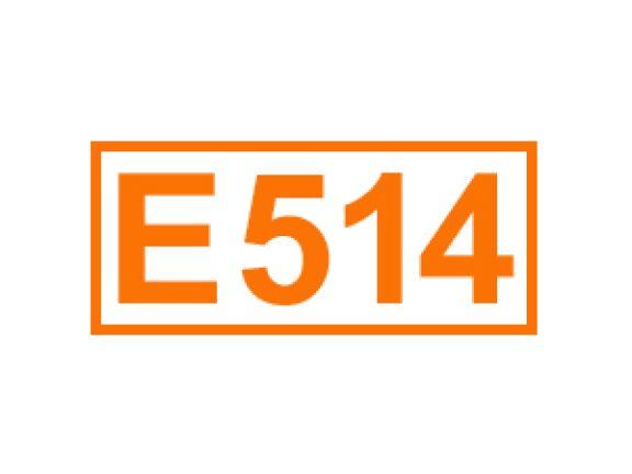 E 514 ein Festigungsmittel