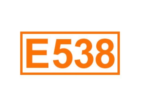 E 538 ein Trennmittel