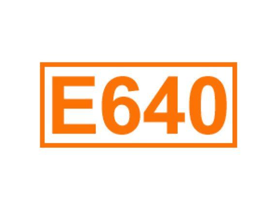 E 640 ein Geschmacksverstärker