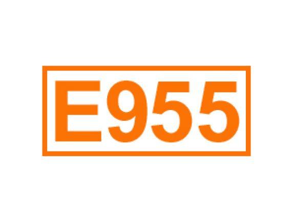 E 955 ein Süßungsmittel