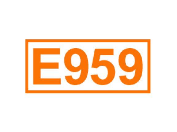 E 959 ein Geschmacksverstärker