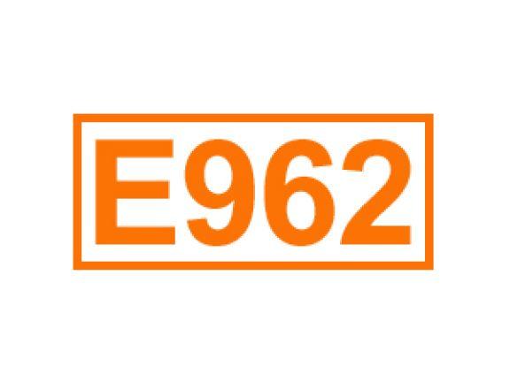E 962 ein Geschmacksverstärker