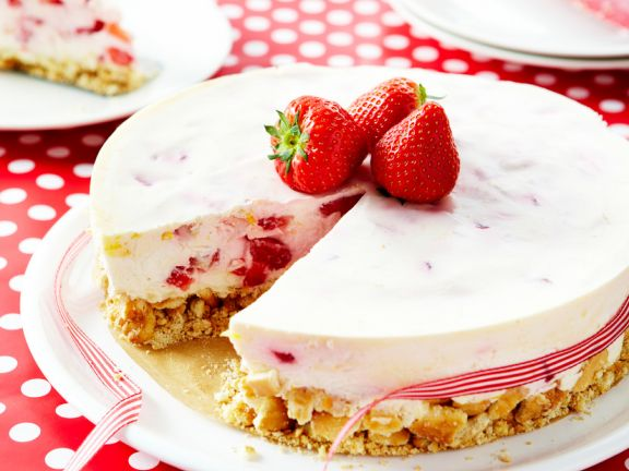 strawberry cheesecake ohne backen eat smarter. Black Bedroom Furniture Sets. Home Design Ideas