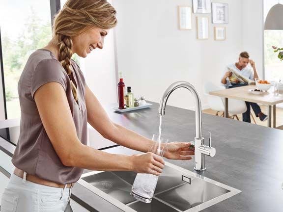 grohe blue wassersystem eat smarter. Black Bedroom Furniture Sets. Home Design Ideas