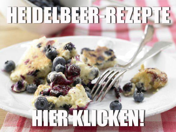 Heidelbeer-Rezepte