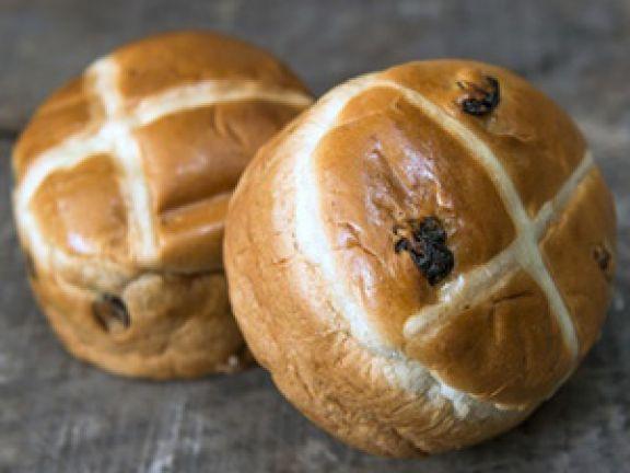 Hot Cross Buns sind eine Osterspezialität