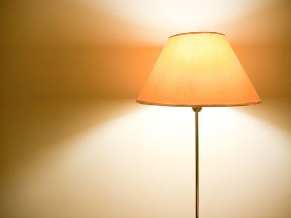 Ostereier im Lampenschirm