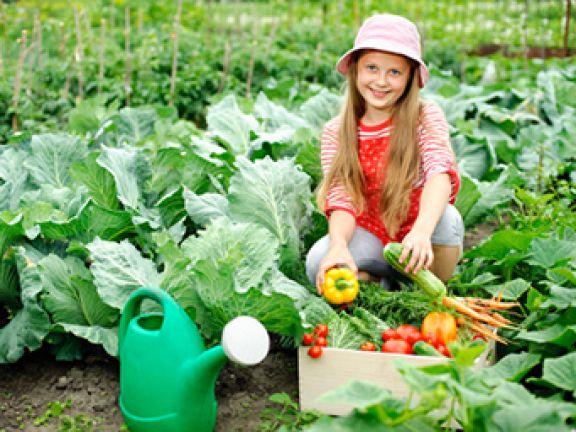 Gärtnern mit Kindern kann viel Freude bereiten.