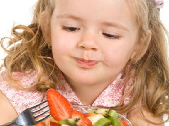 gesundes Essen fuer Kinder