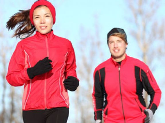 Laufen im Winter ist kein Problem - wenn Sie es richtig machen.