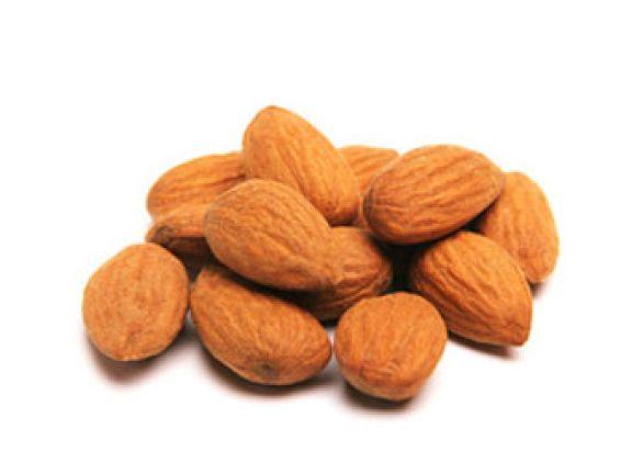 Mandeln enthalten Fett, das der Körper nicht verdauen kann.