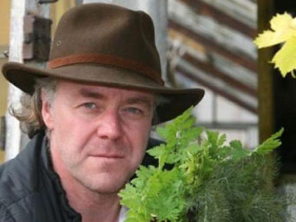Sternekoch Michael Hoffmann baut die Zutaten seiner Rezepte selbst an