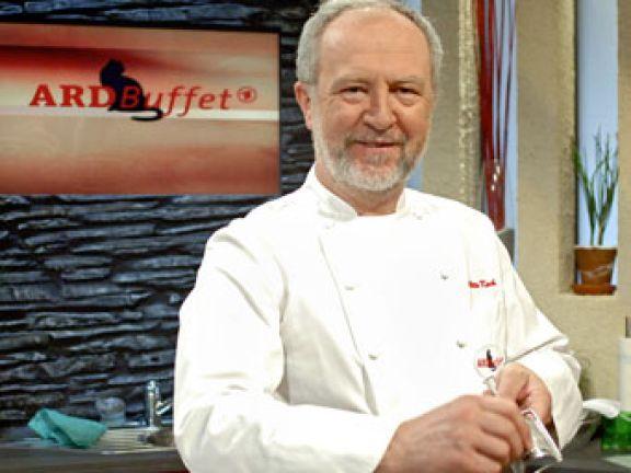 Sternekoch Otto Koch ist bekannt für seine Sendungen in der ARD.