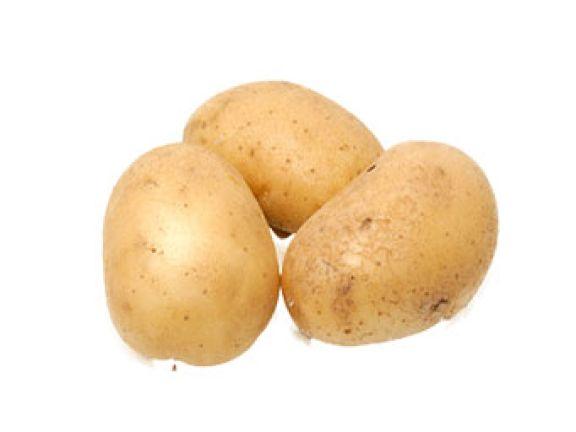Portionsgrößen: Eine Hand voll Kartoffeln.