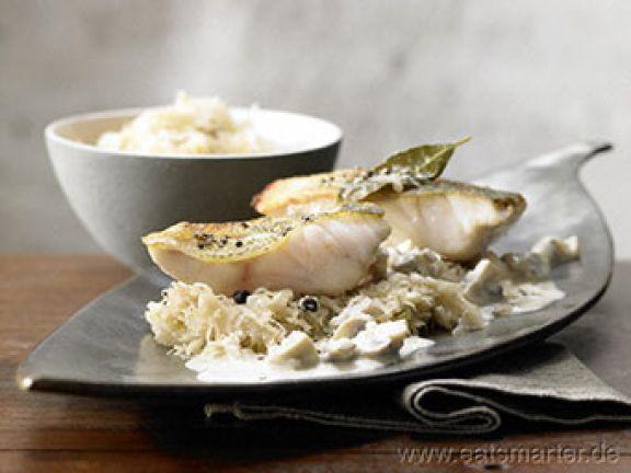 Entdecken Sie hier ein köstliches Weihnachtsmenü mit Fisch.