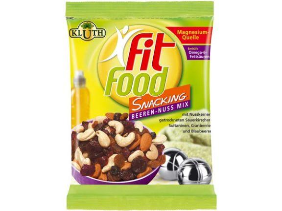 Fit Food Snacking Beeren-Nuss Mix von Herbert Kluth GmbH