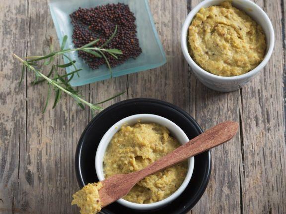 Kochbuch für Rezepte mit Senf