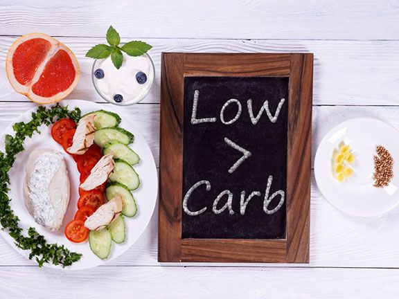 Low-Carb-Ernährung cover image
