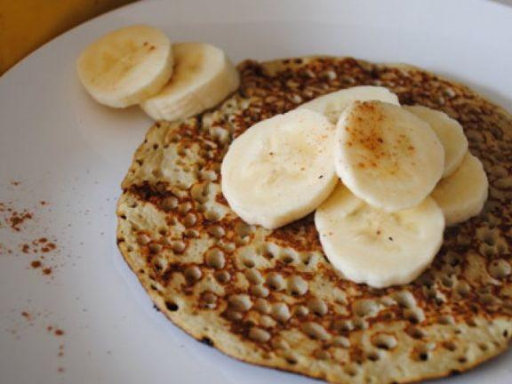 low carb pancakes mit banane rezept eat smarter. Black Bedroom Furniture Sets. Home Design Ideas