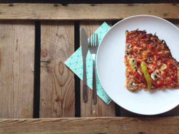 Mmhhh ... Low Carb-Pizza selber machen