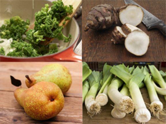 Obst und Gemüse Saison