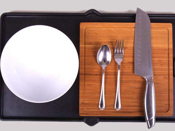 Küchengeräte um Paleo-Nudeln selber zu machen