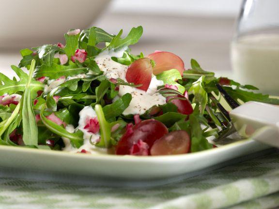 Leicht: Rucola-Estragon-Salat