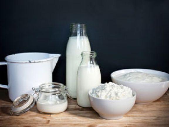 Milchsprodukte sind sorbitfreie Lebensmittel
