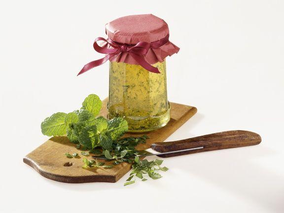 stachelbeergelee mit minze rezept eat smarter. Black Bedroom Furniture Sets. Home Design Ideas